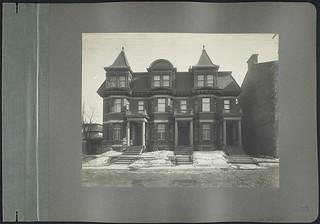 Residential triplex, 110 -114 Vittoria Street, Ottawa, Ontario / Triplex résidentiel, 110-114, rue Vittoria, Ottawa (Ontario)