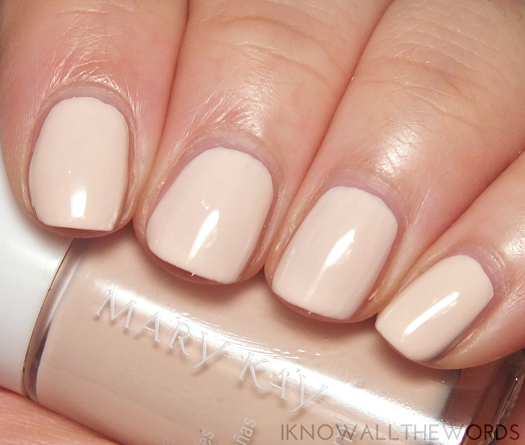 mary kay into the garden nail lacquer in Pink Magnolia