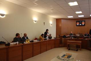 consiglio comunale casamassima Il consigliere Latrofa legge la mozione di sfiducia