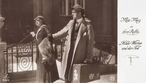 Mia May and Bruno Kastner in Hilde Warren und der Tod (1917)