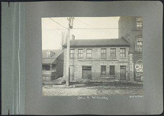 Building Owned by Mrs. H. McCarthy, Occupied by Kennedy and Company [West facade], 53-55 Kent Street, Ottawa, Ontario / Immeuble appartenant à Mme H. McCarthy, occupé par Kennedy and Company (façade ouest), 53-55, rue Kent, Ottawa (Ontario)
