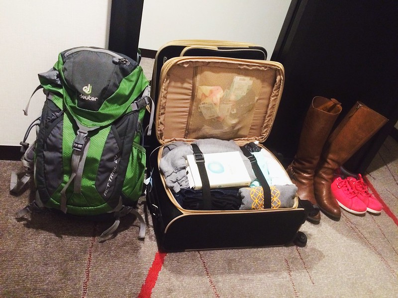 japan packing lightly