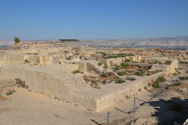 The Egyptian governor's house, 12th century BC, Scythopolis (Beit She'an), Israel