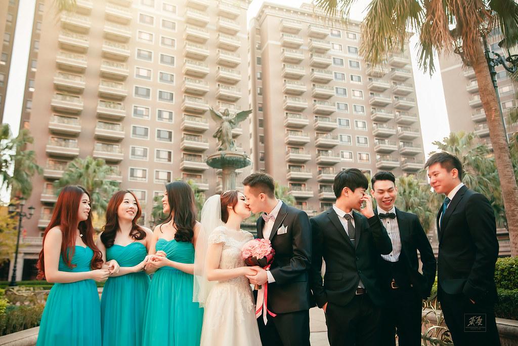 [ 婚攝英聖 | 婚禮記錄 ] Edison + Stefanie { 地點:君悅酒店}