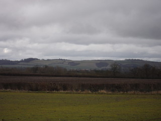 Greensand Ridge from Wardhedges