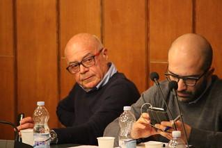 Il dott. Domenico Altieri e Giuseppe Valenzano