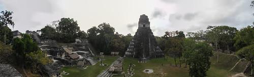 Tikal: vue depuis le Temple des Masques