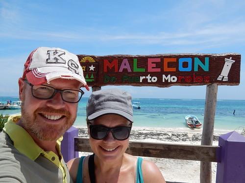 Puerto Morelos - malecon