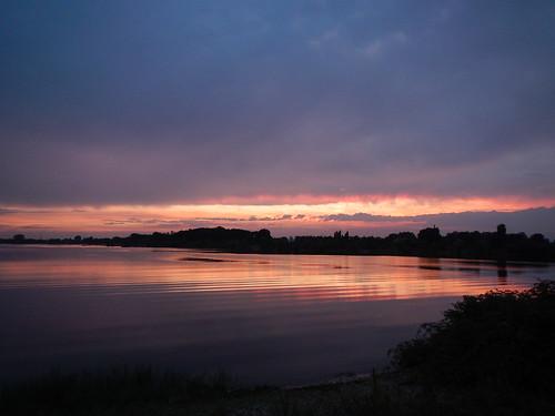 Sunset at the Kraaijenbergse Plassen