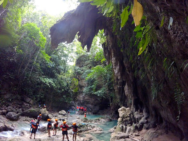 Canyoneering at Matutinao River Cebu