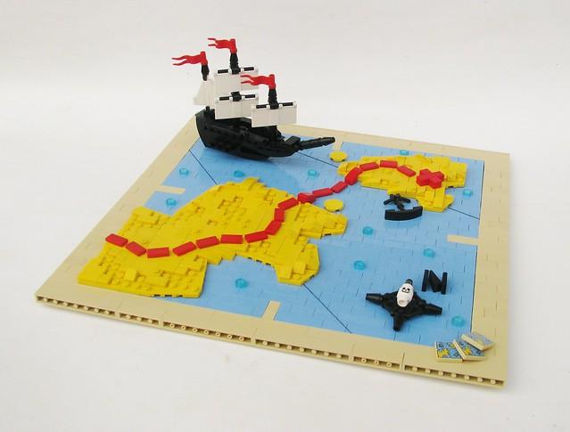 Sailing through MapLand