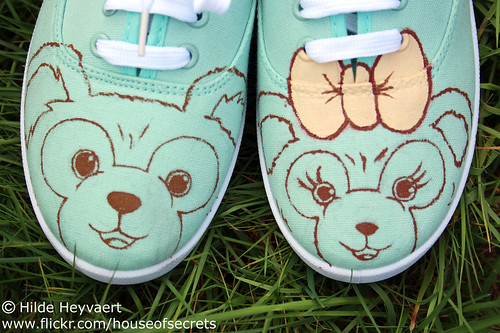 Duffy & Shellie-May sneaker mod