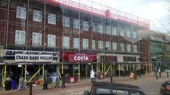 192 - 206 Stratford Road, Shirley - scaffolding