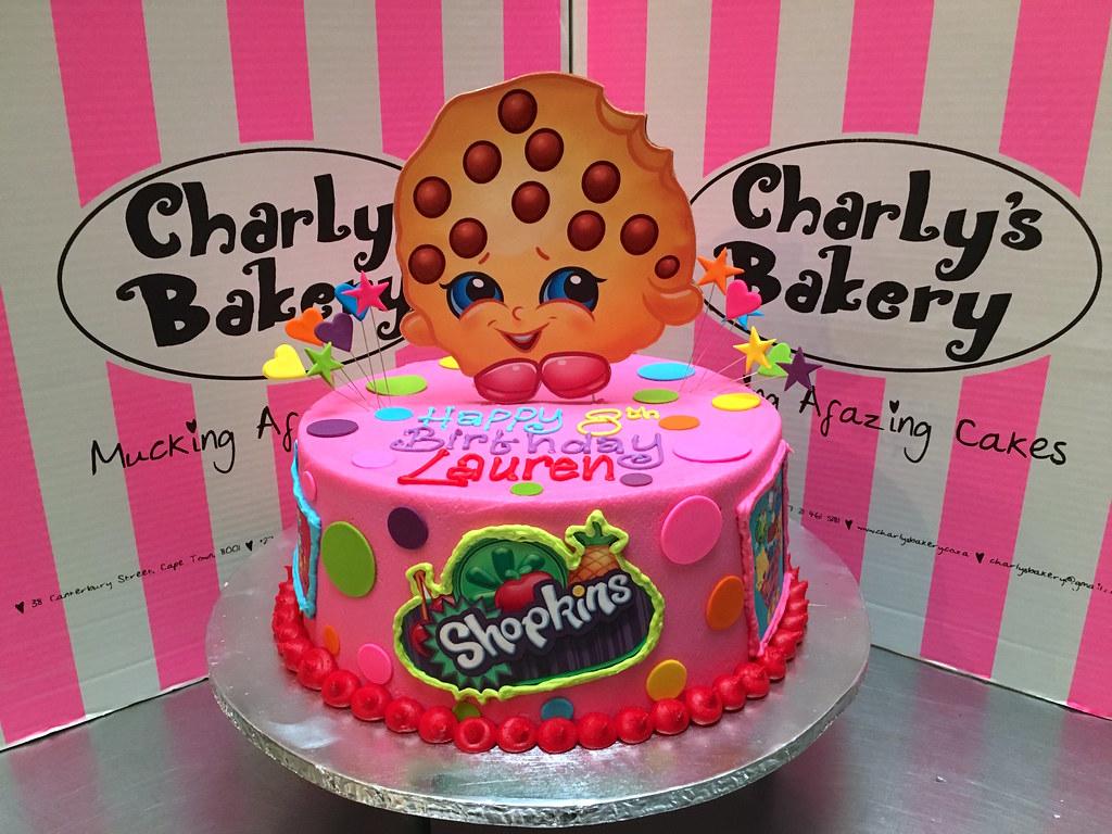 Shopkins Cake Single Tier