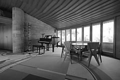 David Wright House living room