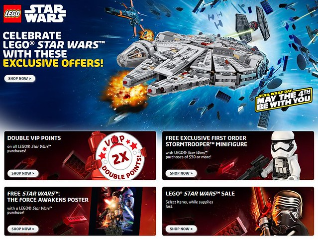 LEGO Shop May The 4th Be With You Sale
