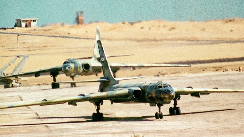 Tupolev Tu-16 Badger long range bomber - Egyptian Air Force