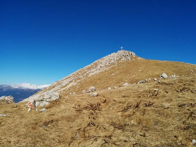 Gipfelkreuz Hochalpenkopf in Sicht