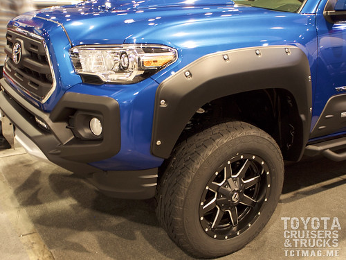 AirDesign launched a series of new bolt-on accessories including a new fender which attaches with 3M tape and allen bolts.