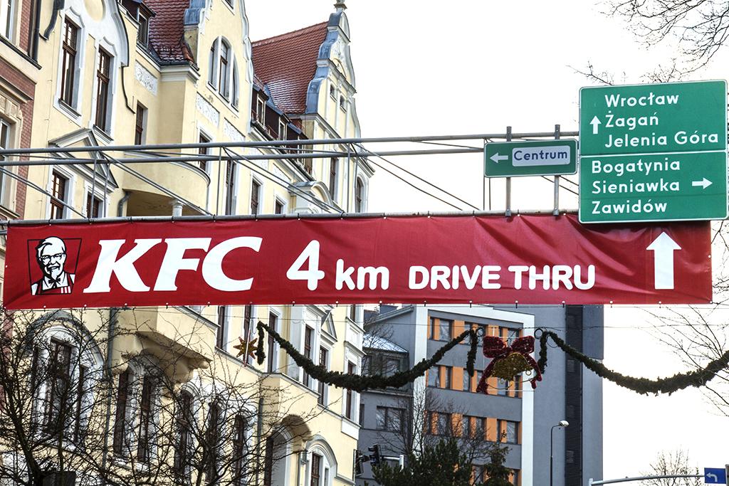KFC ad--Zgorzelec