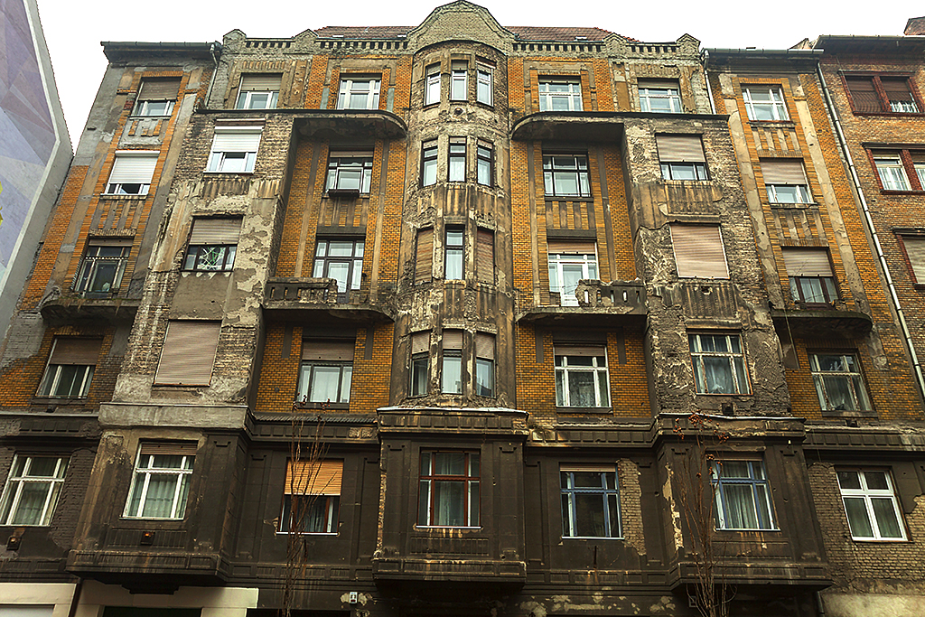 Building in bad shape--Budapest 2