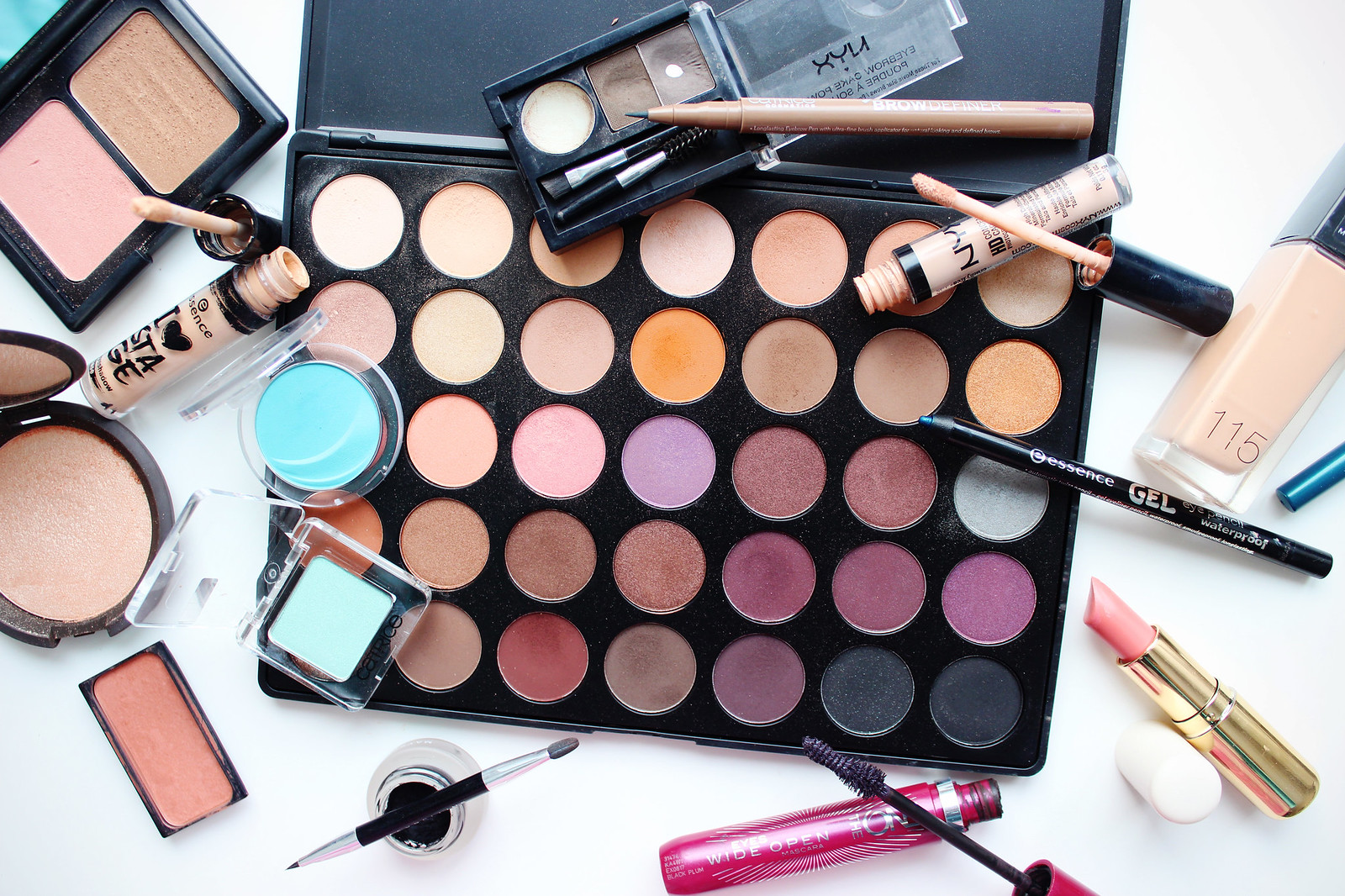 Morphe 35W eye shadow palette review