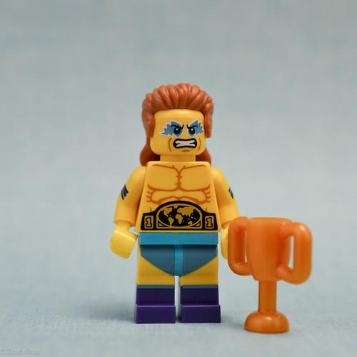 Wrestling champion (Front)