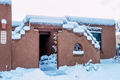 Albuquerque, NM | Adobe In Snow