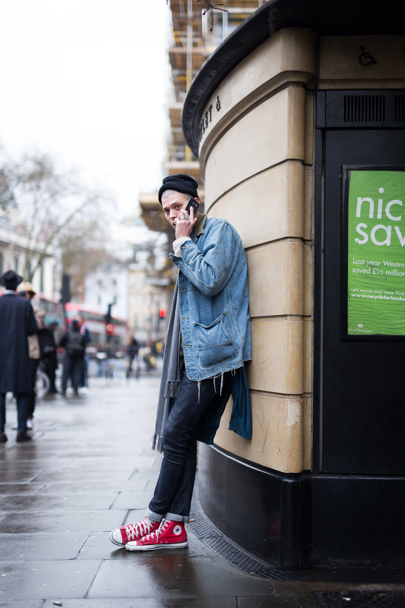 Street Style - Francesco Cuizza, London Collections: Men