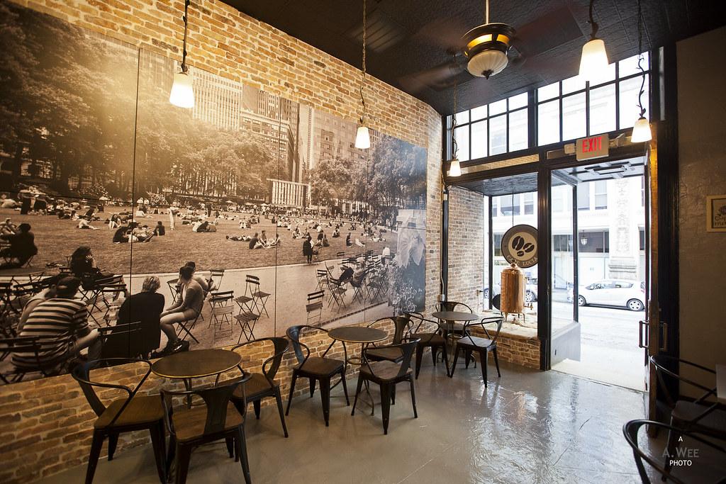 Inside Cafe Lucia