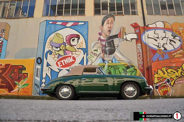 Restauro: Porsche 356 C cabriolet 1964 irish green