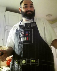 Cookin with the darkside my g'z #darthvader #cooking #apron #thedarthvega
