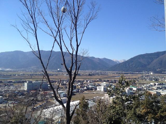 城台山公園からの眺望