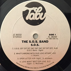 THE S.O.S. BAND:S.O.S.(LABEL SIDE-A)