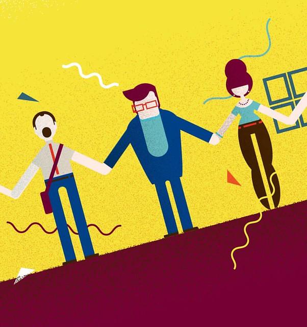 Unity. #illustration #vector #corporatelife
