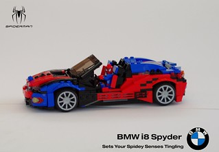 BMW i8 Spyder - Spiderman