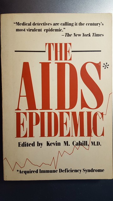 "Book Cover, ""The AIDS Epidemic,"" 1983, anthology of a NYC symposium"