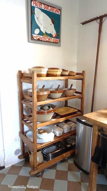 French Antique Baker's Rack - Housepitality Designs