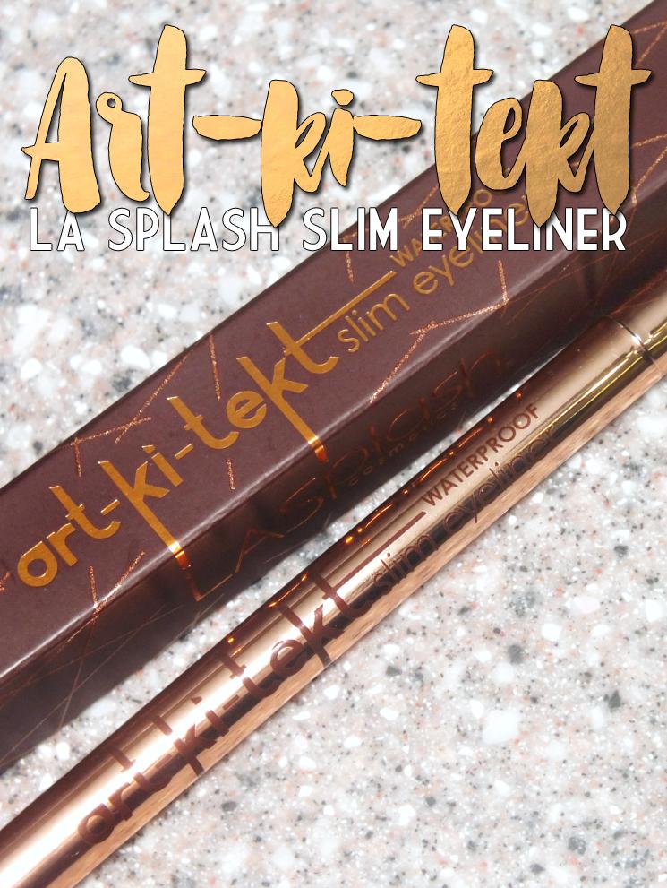 LA SPLASH Art-ki-tekt Slim Eyeliner (2)
