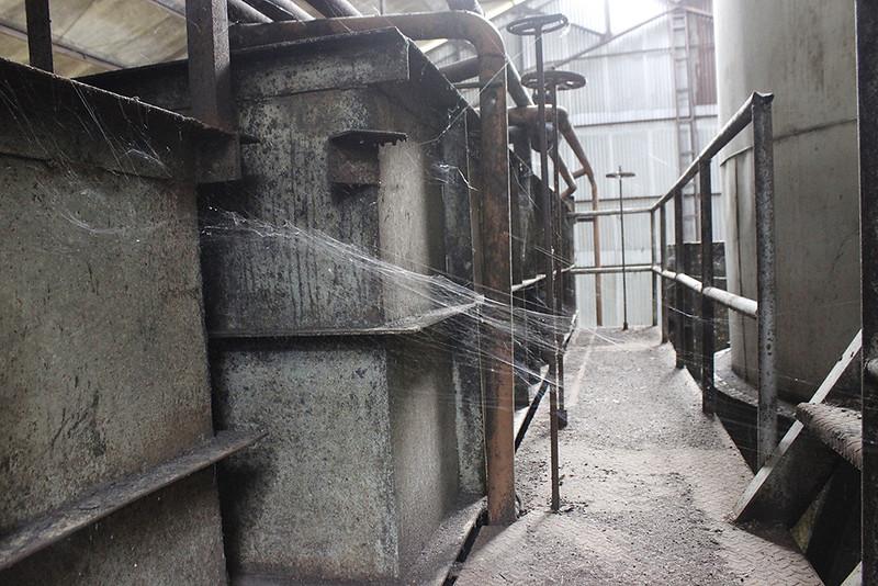 Main di Malang - Pabrik Lama - Rumah laba laba