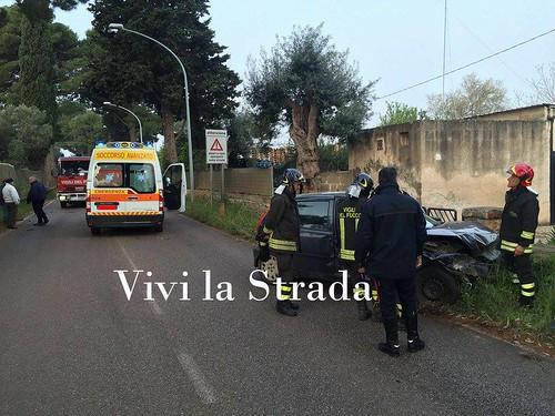 incidente polignano via castellana 2