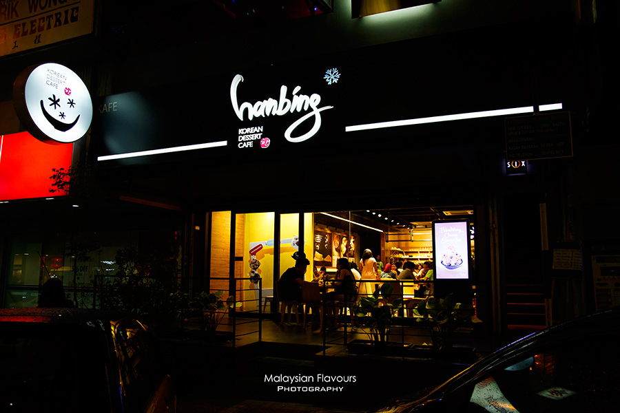 Hanbing Korean Dessert Cafe Bangsar KL