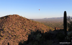 Hot air balloon from Picture Rocks