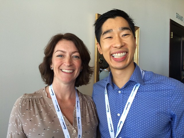 Jen Sheahan and Tyrone Shum