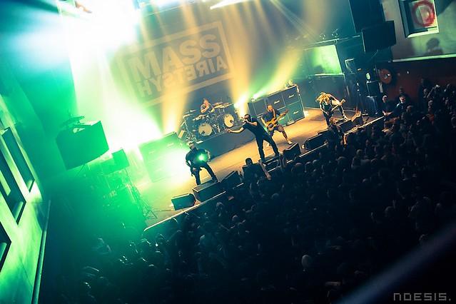 Mass Hysteria. The Videos. Le Splendid. Lille. Mars 2016. Noesis.