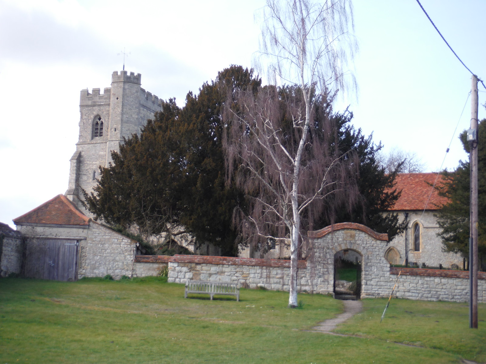 Dinton Church SWC Walk 193 Haddenham to Aylesbury (via Gibraltar and Ford)