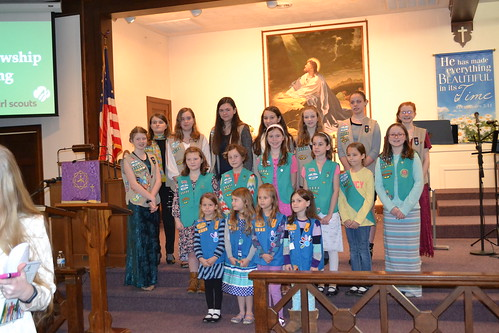 Girl Scout Sunday 2016