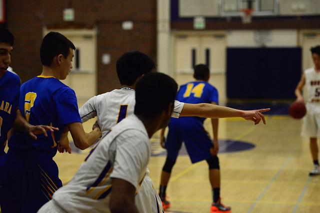 Boys basketball vs Santa Clara