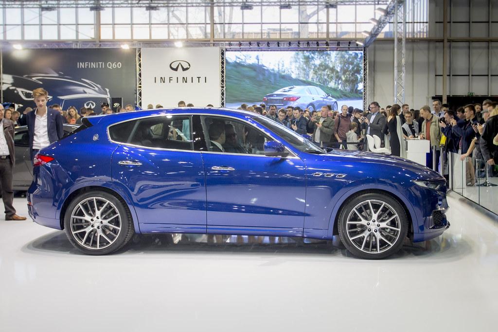 Infiniti QX70 - Motor Show Poznan / Poland