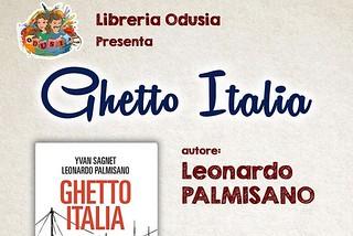 Rutigliano. Locandina Ghetto Italia front